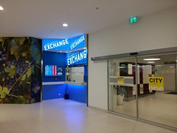 CURRENCY EXCHANGE OFFICE WITHIN CITY CENTRE ONE WEST