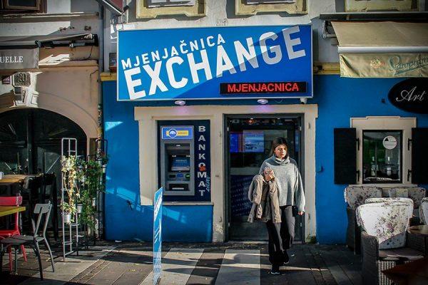 CURRENCY EXCHANGE OFFICE AT TKALČIĆEVA STREET